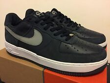 detailed look ab6a4 41543 Nike Air Force 1 Low Obsidian  Med Grey   Wht Size 12 Leather Nubuck