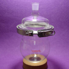1000ML 1-neck Reaction Flask,24/29,Separately flask(round bottom),with Clamp