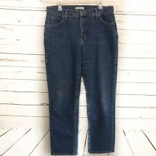Riders 14 Long Womens Jeans Relaxed Denim Pants