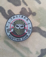 Morale PVC Patch Special Ops SOG - Taliban Hunting Club - Sniper
