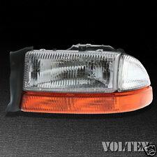 2003-2004 Dodge Dakota Headlight Lamp Clear lens Halogen Driver Left Side