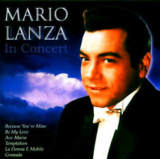 MARIO LANZA IN CONCERT NEW CD BECAUSE YOU'RE MINE BE MY LOVE GRANADA AND MORE