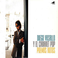 CD SINGLE DIEGO VASALLO Y EL CABARET POP poemas rotos SPAIN 1995