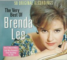 THE VERY BEST OF BRENDA LEE - 2 CD BOX SET - 50 ORIGINAL RECORDINGS