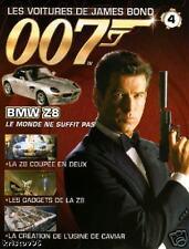 FASCICULE BOOKLET JAMES BOND 007 BMW Z8 SPY WORLD N°4