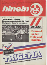 BL 88/89 1. FC Kaiserslautern - FC St. Pauli