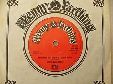 Luz fantástica tienes una encantadora Mind/AZUL LLUVIA Penny Farthing 908
