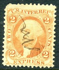 A Nice R10c 2 Cent Orange First Issue Express Revenue Stamp