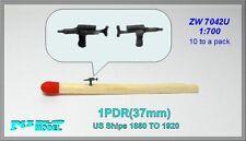 NIKO MODEL 1/700 1 Pounder 37mm Gun per gli Stati Uniti navi 1880 AL 1920