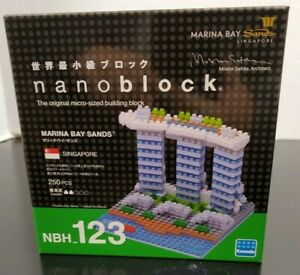 Nanoblock Marina Bay Sands NBH_123 - New in Box - 250 Pieces