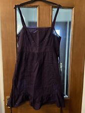 Womens Ladies Purple Dress from OASIS Size 14