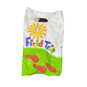 1992 McDonald's Collection Field Trip Bag McDonalds Fast Food Toy Happy