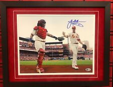 Jack Flaherty St. Louis Cardinals Signed Framed 11X14 Beckett BAS