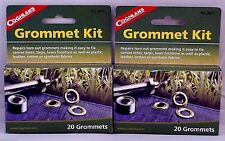 2 Pk Grommet Kits 40 Nickelplate Grommets-Replace In Most Fabrics Inlcudes Tools