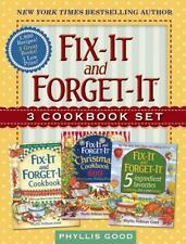 Fix-It and Forget-It Box Set: 3 Slow Cooker Classics in 1 Deluxe Gift Set, Good,