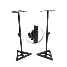 2x Heavy Duty Studio Monitor Speaker Stands Adjustable 1 Pair