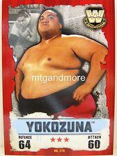 Slam Attax Takeover - #275 Yokozuna