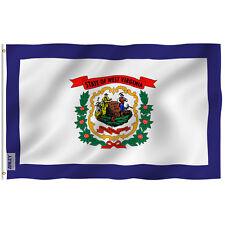 Anley |Fly Breeze| 3x5 Foot West Virginia State Flag-West Virginia Wv Flags