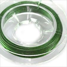 Set de 2 Bobinas Hilo Cable 0,38 – 2x 10m Verde para joyería