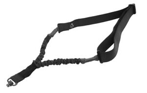 """UTG Tactical Rifle Single Point Bungee Sling QD Swivel Adjustable 42"""" to 58"""""""