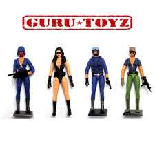 SPYLOUNGE Action Fig EXCLUSIVE SET of Trooper, Agent Annika, Officer, Contractor