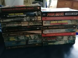 Sven Hassel job lot collection 17 rare vintage paperbacks