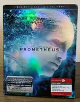 Prometheus (Blu-ray, DVD, 2012) Target Exclusive Photo Book Edition - Complete