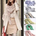 New Women's Fashion Pretty Long Soft Chiffon Scarf Wrap Shawl Stole Scarves Lot