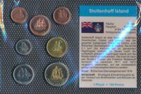 Stoltenhoff Island 2008 Stgl./unzirkuliert Kursmünzen 2008 1/2 Penny  (9164951