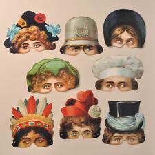 Mamelok Spielzeugsmuseum Nurnberg Paper Masks (R422)