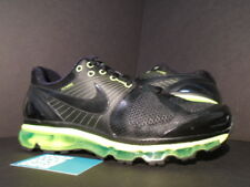 Nike Air Max + 2010 ATTACK PACK 360 BLACK NEON VOLT GREEN WHITE 386368-008 4f8089749