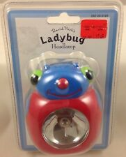 David Kirk'S Ladybug Headlamp Flashlight - Sealed Pack Children'S Toy Light