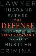 The Defense by Steve Cavanagh (2016, Hardcover)