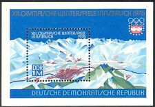 Germany 1975 Winter Olympics/Olympic Games/Sports/Mountains/Maps 1v m/s (n32287)