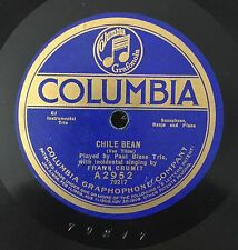 "RARE 78 RPM 10"" PAUL BIESE TRIO CHILE BEAN FRANK CRUMIT/BELLS OF MONTEREY COLUMB"