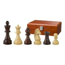 Chess Figures - Barbarossa - Wood - Staunton - Kings Height 3 1/16in
