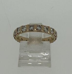 Meister Memory Ring Brillanten ca. 0,9ct. Gold 18kt. Größe 53  3,32g.