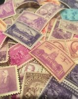 20 MNH Vintage and  Different 3 cent stamps from  1930 To 1945