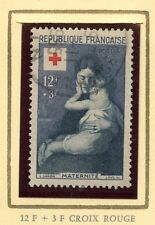 STAMP / TIMBRE FRANCE OBLITERE CROIX ROUGE  N° 1006 MATERNITE COTE 12,50 €