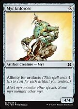 4x Oppressore Myr - Myr Enforcer MTG MAGIC MM2 Modern Masters 2015 Eng
