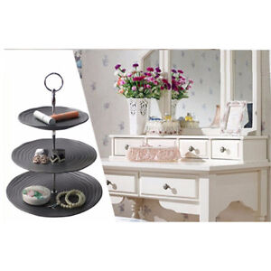 Support Cake Plate Stand Detachable Cupcake Dessert Rack Stem Connecto F3