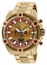 Invicta Herren Star Wars Quarz Uhr W / Edelstahl Band, Gold, 26 (Modell