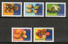 Suriname - 2001 Definitives fruits -  Mi. 1784-88 MNH