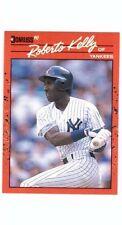 1990 Donruss baseball card #192 Roberto Kelly New York Yankees