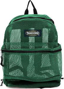 See Through Mesh Backpack/ Book Bag/ School/ Hike/ Travel Backpack-Free Shipping