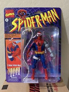 Marvel Legends Cyborg Spider-Man Retro Action Figure Target Exclusive