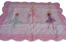 NEW Ballet Lesson Ballerina Girls Quilt Standard Pillow Sham
