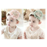 1PC Kids Baby Headband Flowers Lace Bow Hair Wear Hairband Ribbon Hair Accessory
