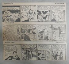 """(313) Brenda Starr"""" by Dale Messick from 1949 Size: 3 x 8 inches Complete Year !"""