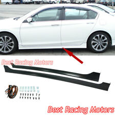 Mod Style Side Skirts (PP) Fits 13-17 Honda Accord 4dr Sedan